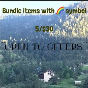Other - Any items with 🌈 bundle  $5 for $30!